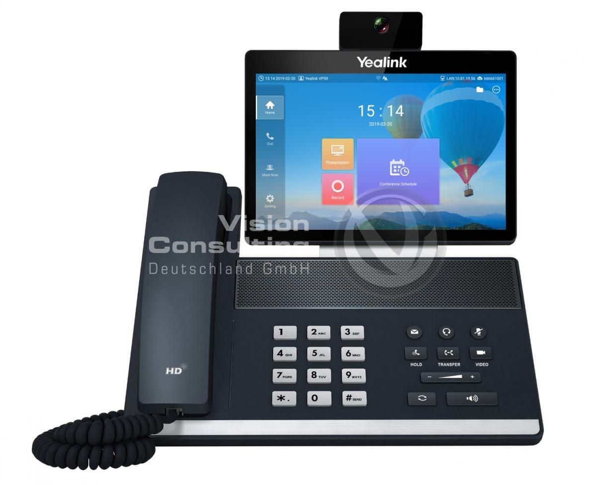 Yealink Smart Video Phone VP59 DEMO